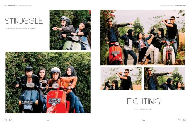 design buku tahunan siswa by percetakan RK Creative