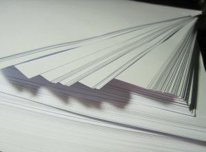 Kertas cetak buku tahunan sekolah