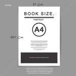 Percetakan buku tahunan siswa ukuran A4 RK Creative