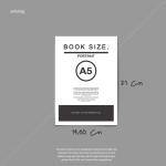 Cetak buku tahunan siswa ukuran A5 RK Creative