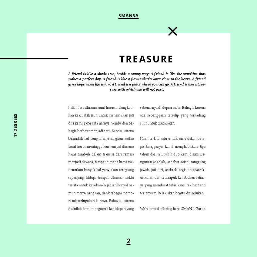 design buku tahunan sekolah dari RK Creative