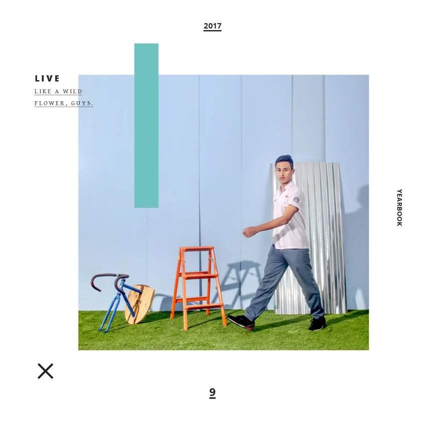 layout dan design album kenangan sekolah