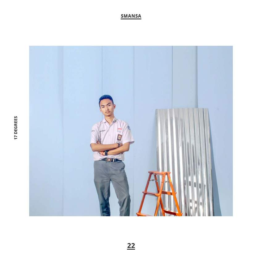 design cover album kenangan sekolah