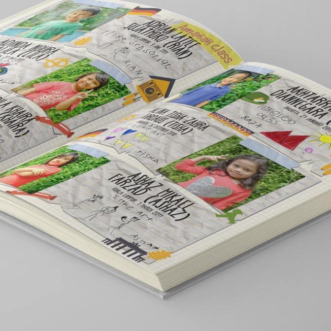 Contoh Buku Tahunan Sekolah TK