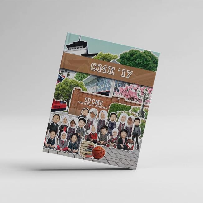 Contoh Buku Tahunan Sekolah SD