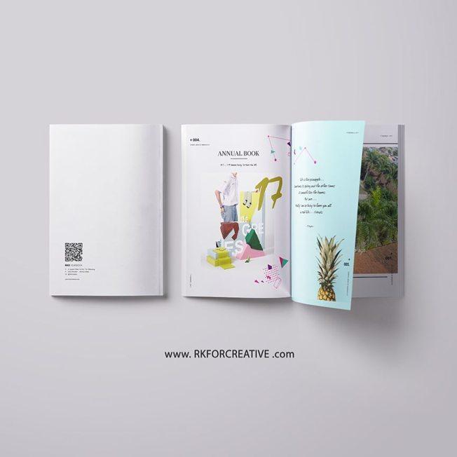 Design Buku Tahunan Sekolah